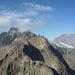 Blick zum Mäntlisser und Schlossberg vom Jakobiger, im Vordergrund der schöne Gipfel des Ruchen