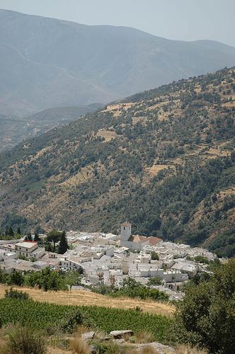 Capileira, eines der Pueblos Blancos.