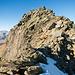 Abstieg nach Süden im Blockstein (Rückblick)