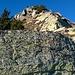 Ultimi metri su solidi blocchi rocciosi.