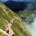 Dans la montée entre Holzegg et Grosser Mythen: presque une autoroute à randonneurs zurichois...