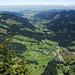 Vue sur Brunni et Alptal