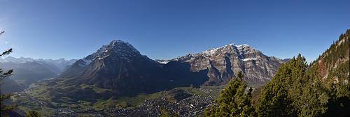 Panorama vom Chranzkopf.