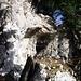 Felsentor neben dem Abstiegsweg