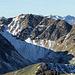 Hinter dem Geierhaupt, unserem Nachbarn, schauen einige bekannte Gipfel hervor.