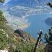 Tieflbick beim Abstieg II - Brunnen, unser Ausgangspunkt