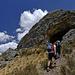 Zustieg zur Grotte