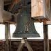 Die alte Glocke des alten Kirchenturmes.