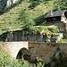 Blick zurück zur anderen Seite der Steinbrücke
