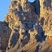 Ein pendentes Projekt am Tschäri, hier führt die Kletterroute auf die Bire hoch.