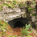 Höhle etwas unterhalb des Grats der Burgflue
