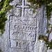 Inschrift an der Rampigliata - einer Treppenanlage mit etwa 30 Höhenmeter