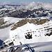 Und mein zweites Gipfelziel, betrachtet vom Gipfelkreuz des Chronenstockes.
