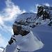 Voriges Gipfelziel, betrachtet vom Sattel zwischen Chronenstock und Blüemberg.