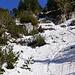 Die direkte Linie über die Steilstufe von unten gesehen