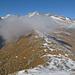 Gratverlauf zum Schene Bärg (im Nebel)