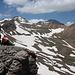 """Khrebet Karakatar/P 3.460 - Auf dem """"Gipfel"""" der markanten Erhebung im langgestreckten Kamm südlich des Aragats."""