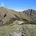 Bassa di Indemini: v.l.n.r Monte Tamaro, Motto Rotondo und Manera