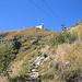 Monte Lema und Seilbahn im Abstieg nach Miglieglia
