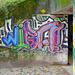 Farben anderer Art: Eingang des Stollens nach Bremgarten