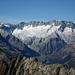 Guter Einblick in den Dammagletscher, im Vordergrund der Verbindungsgrat Chli – Gross Schijen