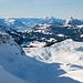 Sicht in Richtung Vierwaldstättersee beim Aufstieg zum Biet