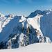 Eindrückliche Grate beim östlichen Sihltal