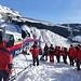 Einweisung durch die Alpinpolizei direkt am Gerät