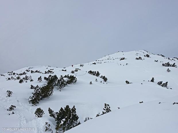 Der Weg zum Gipfel beginnt sich zu ziehen...