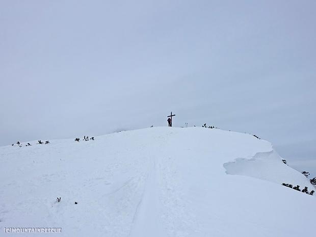 Das Gipfelkreuz... endlich! ☺