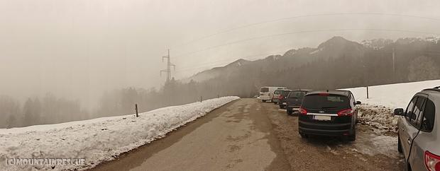 Aus dem Nebel kommen wir... in den Nebel kehren wir zurück!