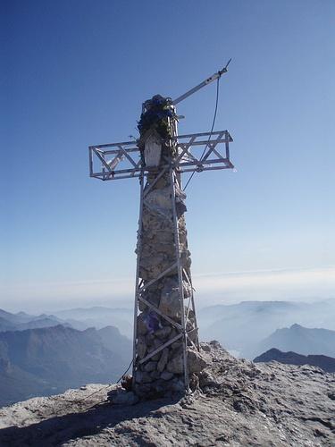 Croce di Vetta Grignetta.