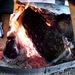 Il fuoco arde e scalda