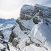 Chronenstock vom gesicherten Gipfelaufstieg zum Blüemberg aus fotografiert