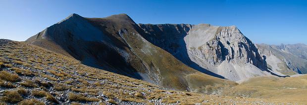 Auf dem Weg zum Monte Vettore