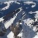 Wilde Gipfel im Westlichen Alpstein vor dem Stockberg