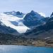 Hier kann man gut den Gletscheranstieg sehen