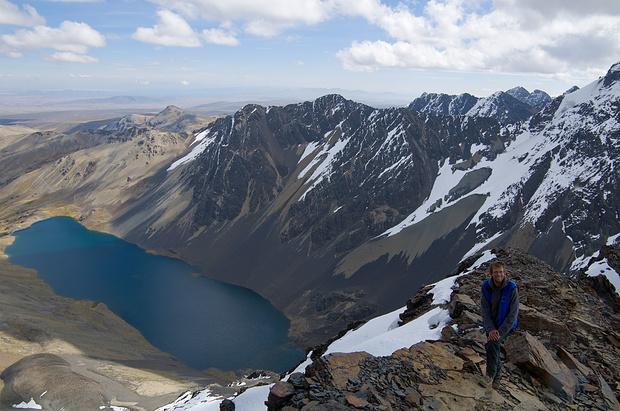 Der Pico Austria - ein praktischer und schöner Akklimatisationsgipfel