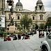 La Paz, Plaza Murillo und (unfertige) Kathedrale
