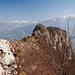 Blick vom Sentiero Mario Foletti zur Cima Capi