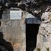 Auf dem Sentiero Camminamenti, erster Tunnel