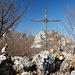 Gipfel der Cima Rocca, eher selten, dass man hier allein ist