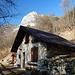 Schutzhütte im Val Vasotina