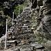 """Sul sentiero delle """"scalate"""" verso la Capanna Soveltra"""