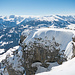 Einfaches sanftes Gelände bis zum Gipfelsteinmann - Und doch bieten die letzten Meter einen Hauch von alpinem Flair!