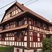 Auch in der Franche-Compté überwiegt der Riegelhausbau