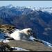 Cima di Biasagn, auf dem Gipfel.