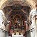 L'interno del santuario.