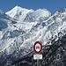 nicht nur im Winter ist die Alpstrasse ab Pletsche gesperrt
