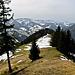 Blick vom Gipfel des Prodel